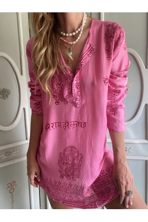 KAFTAN HAWAII PINK