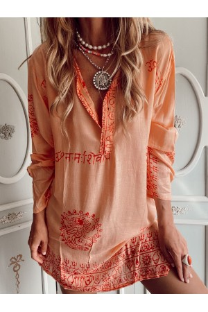 KAFTAN HAWAII ORANGE
