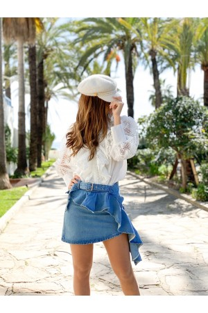 FALDA LOLA DENIM