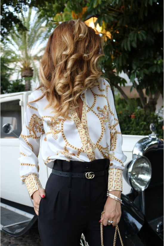 CAMISA GOLDEN WHITE