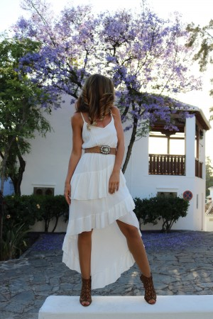 VESTIDO WHITE PARTY